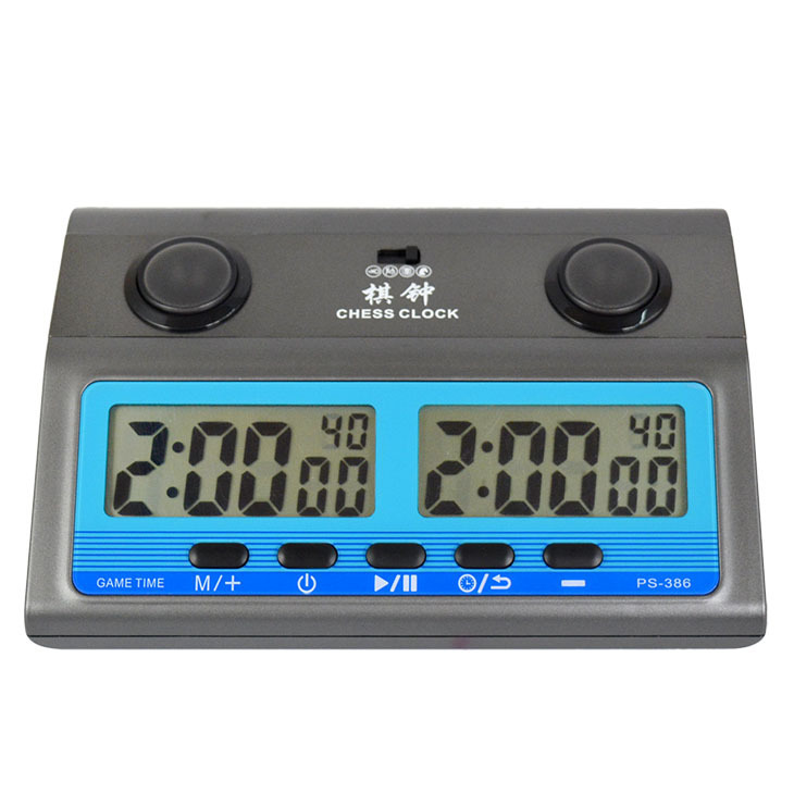Leap professional digital Chess Clock Timer Electronic Watches Sports Competition Board Game PS386