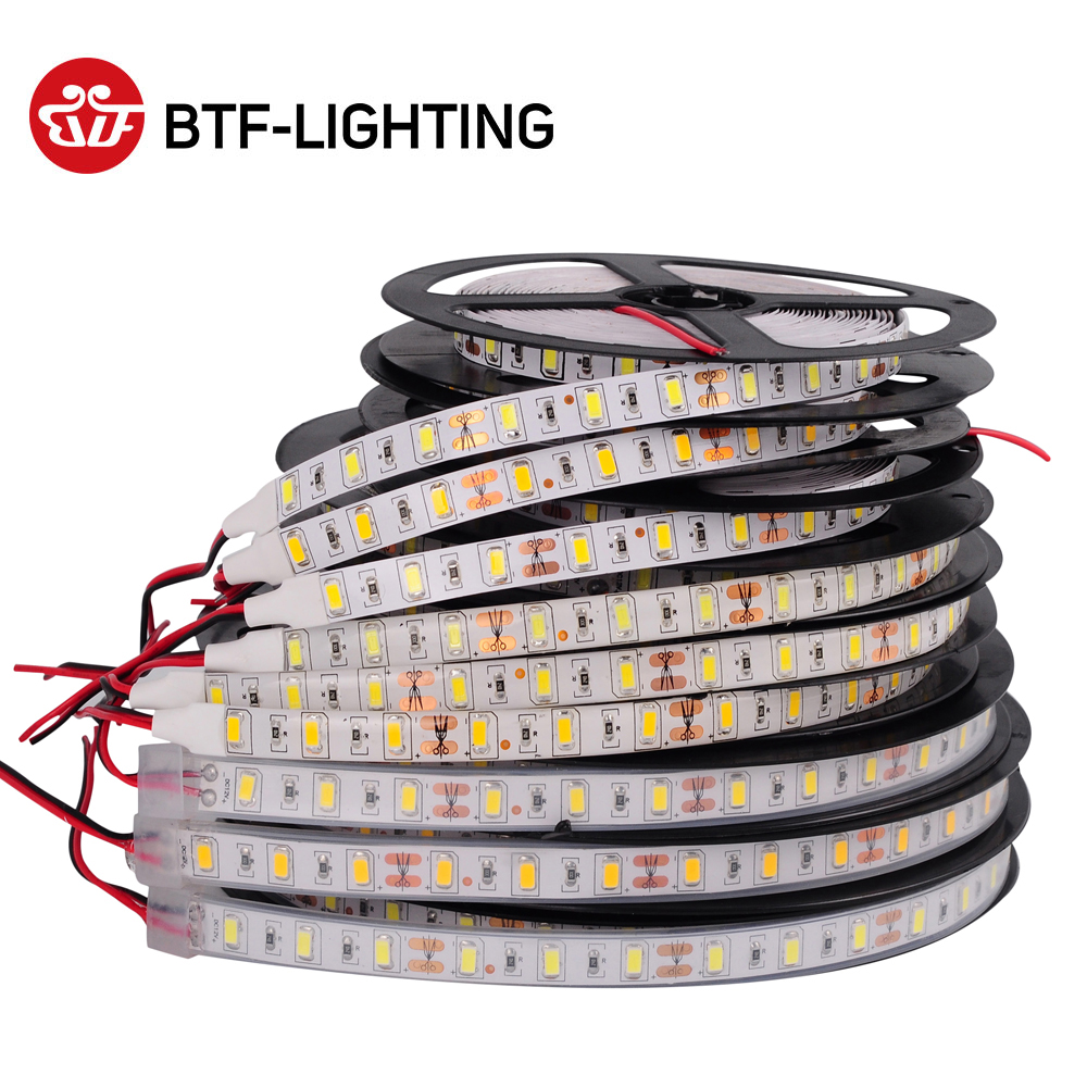 5730 5630 SMD Led Strip Light Warm Natural Cool White 5m 300 LEDs Brighter Than 5050 3528 2835 LED Lights Flexible Lighting 12V