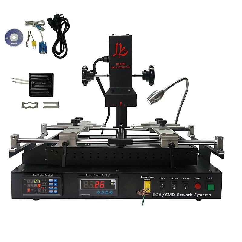 LY IR8500 IR BGA rebillage machine upgrated de la IR6500 V.2 et IR6000 V.3 avec 80mm 450 W Infrarouge top céramique plaque chauffante