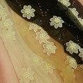 Princesa dulce lolita pantimedias exclusivos hechos a mano de flores de encaje de perlas de Ultra-delgado puede cortar verano panti thin medias bril