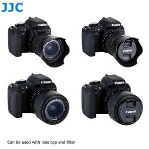 Image 2 - Lens Hood Canon EOS 90D 80D 70D 77D, canon EF S 18 55mm f/3.5 5.6 is STM, canon EF S 18 55mm f/4 5.6 is STM değiştirir EW 63C