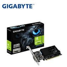 Полностью новая Видеокарта Gigabyte GV-N710D5-2GL GT710 2G D5 половинной высоты, настольный компьютер 1U2U, Серверная видеокарта