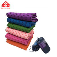 Colorful Clearance Soft Sport Fitness Exercise Yoga Pilates Mat Anti Slip Towel Send the Net Bag For Free Shipping,SY0040