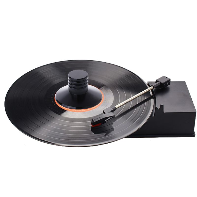 Zinc Alloy LP Vinyl Record Player Balanced Metal Disc Stabilizer Weight Clamp Turntable HiFi