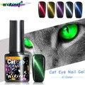 WiRinef Magic 5D Гель-лак для ногтей с эффектом «кошачий глаз» 5 мл Магнитный отмачиваемый УФ гель-Лаки с эффектом звездного неба, лак с нефритовым э...