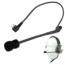 Tactical Z-Tactical Microphone For Comtac II Noise Reduction Headset Outdoor Sports Military High Tone Quality Headphone Tool(China)