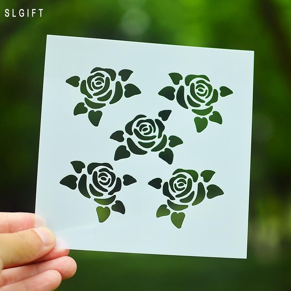≧Diseño del corazón decorativo estratificación stencils para DIY ...