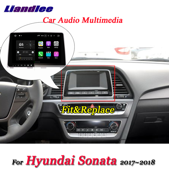 Liandlee Car Android System For Hyundai Sonata 2017 2018 Stereo Radio Video Wifi Usb Gps Map Navi Navigation Multimedia No Dvd