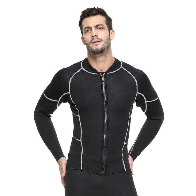 SBART 3mm néoprène hommes plongée sous-marine costume garder au chaud Anti-méduse combinaison veste de plongée en apnée surf sous-marine maillots de bain
