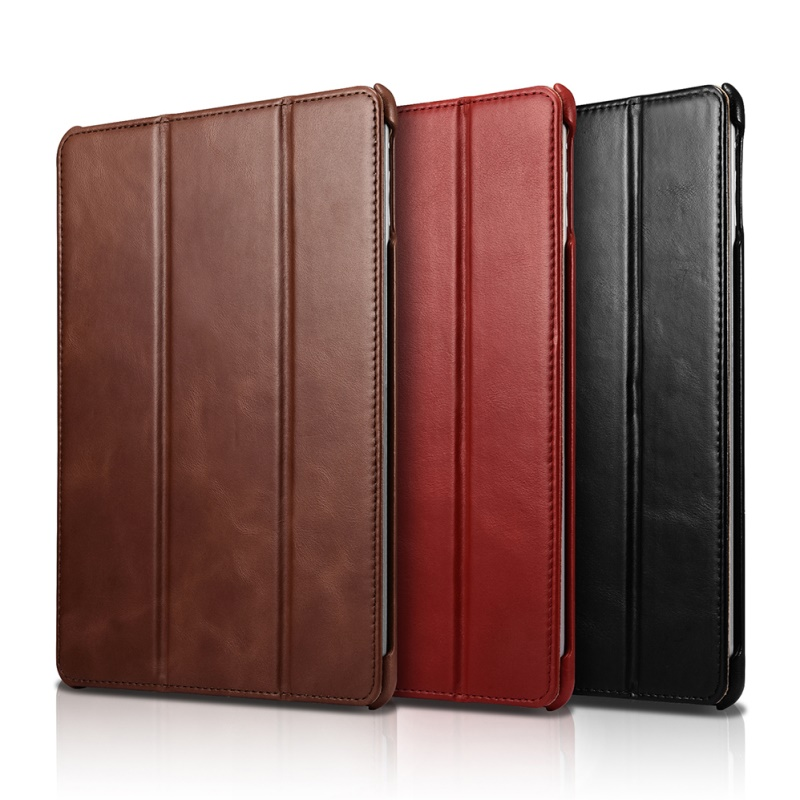 ICarer Lederen Case Cover voor iPad 9.7 inch (2017) met Stand/Sleep/Wake Up Leather Case voor iPad 9.7 inch (2018)-in Hoezen voor tablets en e-books van Computer & Kantoor op AliExpress - 11.11_Dubbel 11Vrijgezellendag 1