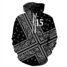 Harajuku Hoodies Sweatshirt Men Women 3d  Hooded Pullover Autumn Winter Tracksuit
