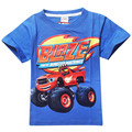 Blaze Monster and Machines flame monster machines children T-shirt short sleeve wholesale