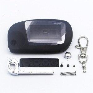 Image 1 - Switchblade Key Case Voor Scher Khan Magicar 5 Ongesneden Blade Fob Case Cover M5 Vouwen Auto Flip Afstandsbediening Met M5 glas
