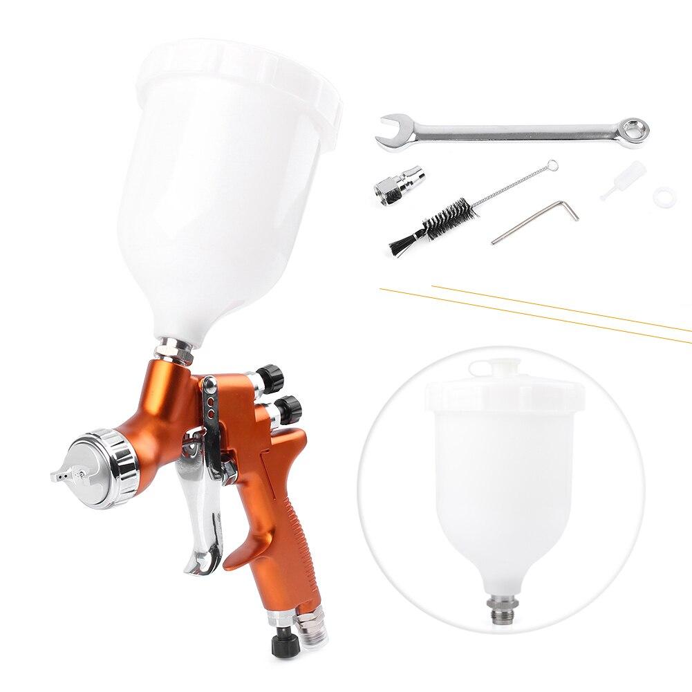 Para Auto pintura de cuerpo 1x HD 2 HVLP aire gravedad Spray Kit de pistola boquilla de 1,3mm capa de pintura de herramienta de la reparación