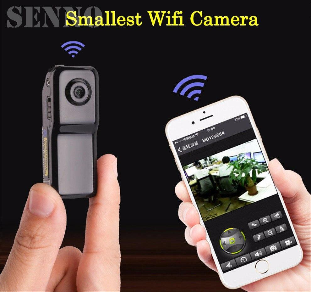 Mini Macchina Fotografica del IP di Wifi P2P Wireless Camera Registrazione Segreta Android iOS Camcorder Video Wireless Più Piccolo Espia Telecamera