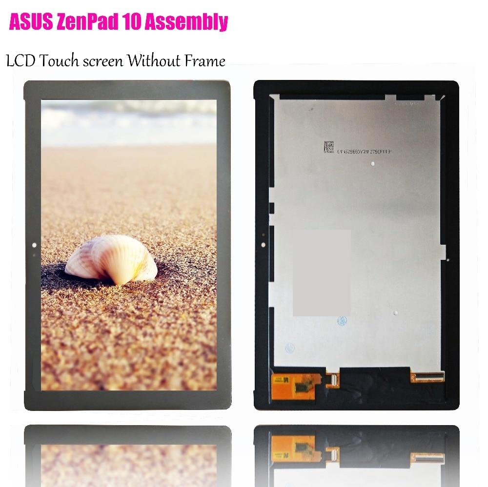 Pantalla LCD NV101WUM-N52 pantalla táctil digitizador asamblea para ASUS ZenPad 10 Z301M Z301ML Z301MFL P028 P00L Z300M P00C