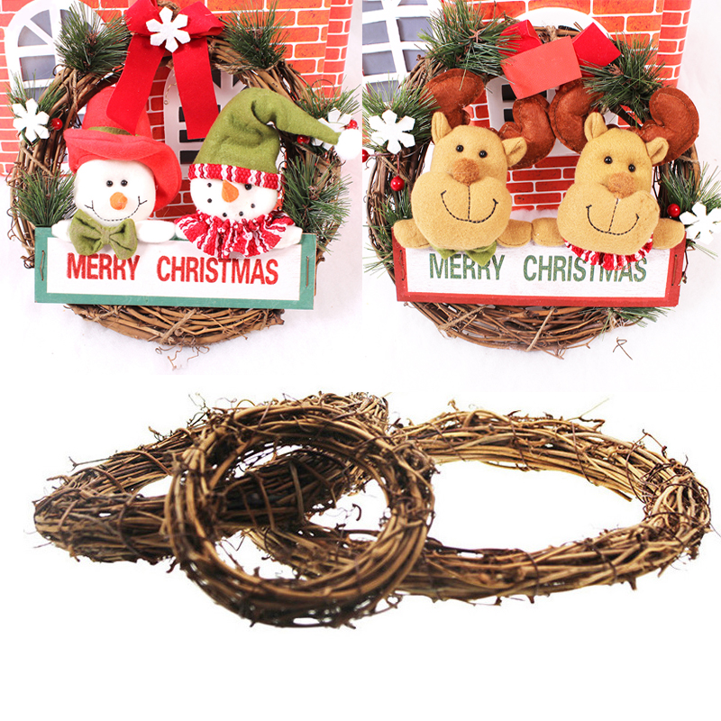 Wedding Decoration Rattan Wreath Garland Door Hanging ...