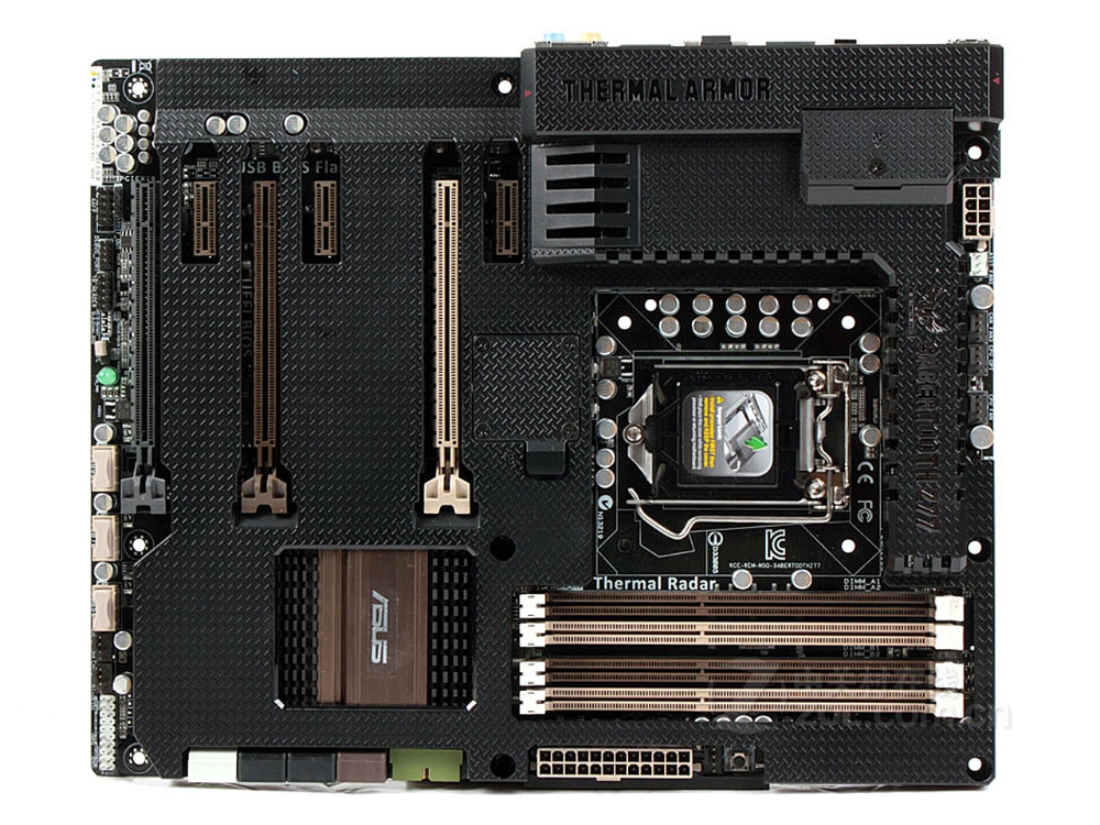 Originale della scheda madre ASUS SABERTOOTH Z77 DDR3 LGA 1155 USB2.0 USB3.0 32 GB per 22/32nm CPU Z77 scheda madre Desktop trasporto libero