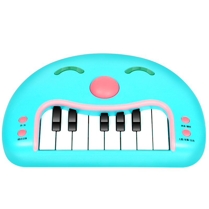 Qiaowa baby Musical Educational Recording Replay Animal Sound Toy Piano Developmental Music Learning Instrument Toys - 4