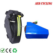Triangle Battery Ebike 10ah 16ah 14ah 48V To EU And 36V for 250W-500W Taxes Customized
