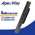 ApexWay 14 8 v A32-K53 Аккумулятор для ноутбука ASUS A31-K53 A42-K53 K53S X53E A53JC AK53JE A53JH A41-K53 K53 K53E X54C X53S X53