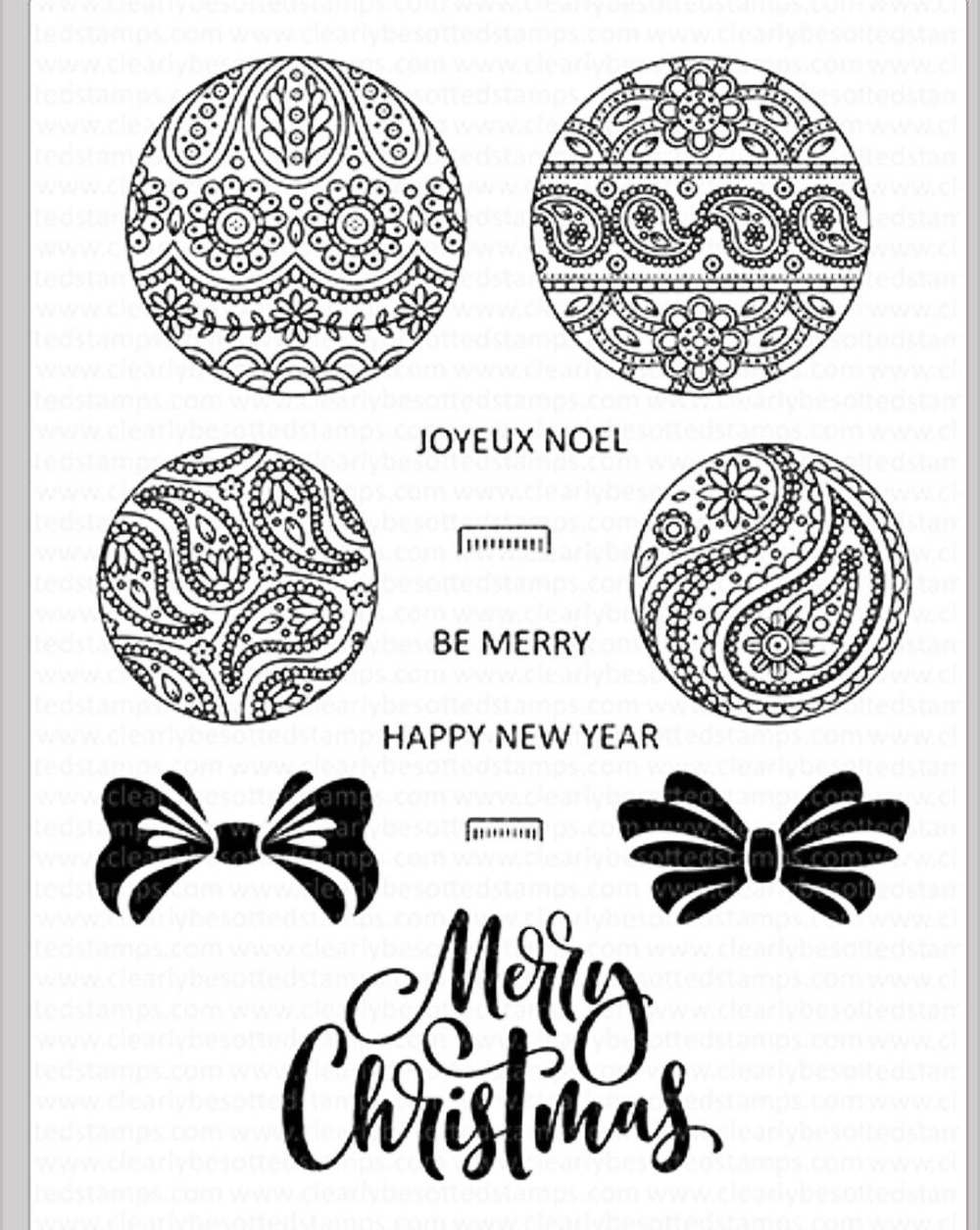 happy new yeartransparent clear stamps for diy scrapbookingcard makingkids christmas fun decoration supplies