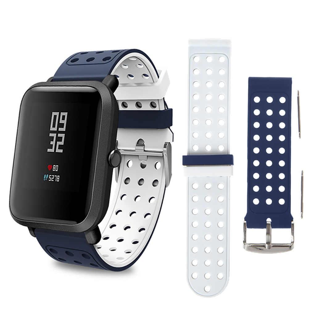 18mm de doble correa de Color para Samsung Gear S3 para Amazfit ritmo inteligente reloj