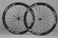 ICAN bicycle wheelset 50C 25mm width clincher carbon disc wheel