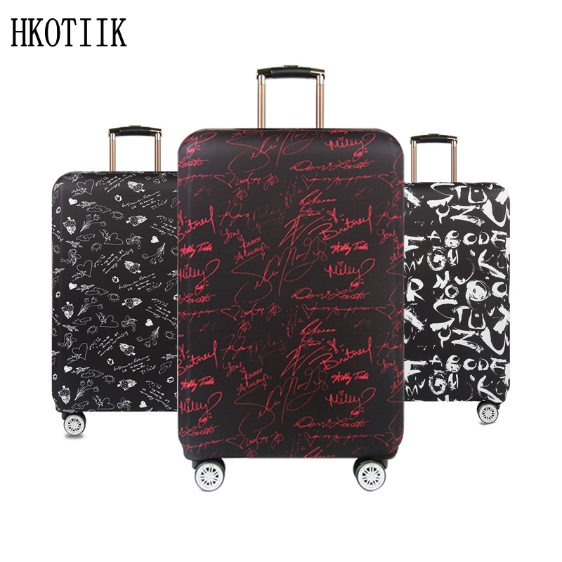 High quality travel suitcase Elastic dust cover Trolley case Luggage protection case for 18 ~ 32 inch suitcase protective cover travel accessories fashion striped suitcase protection cover 18 32 inch trolley dust cover suitcase protective cover