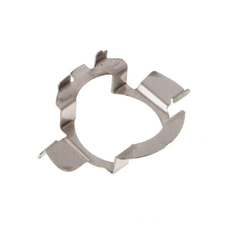 H7 HID Bohlam Logam Pemegang Adaptor Retainer Klip untuk BMW Audi Benz Qyh