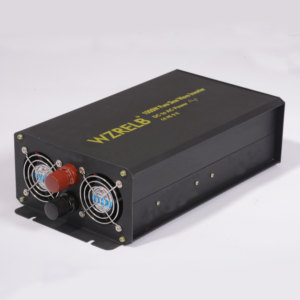 цена на Hot sell 24v Inverter 1000w Pure Sine Wave Inverter 12V 100V/110V/220V/240V 1000W High Frequency Off Grid The Solar Inverter