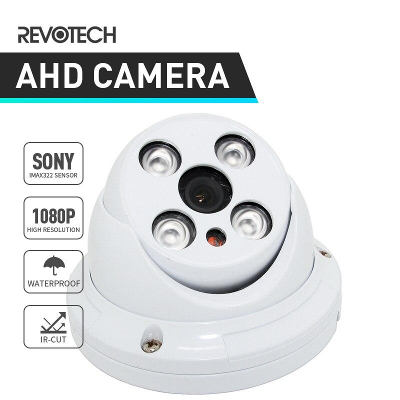 bilder für Sony IMX322 1920x1080 P 2.0MP AHD Cctv-kamera 4 Array LED Wasserdicht Dome Kamera Nachtsicht Im Freien Überwachungskamera mit IR-Cut