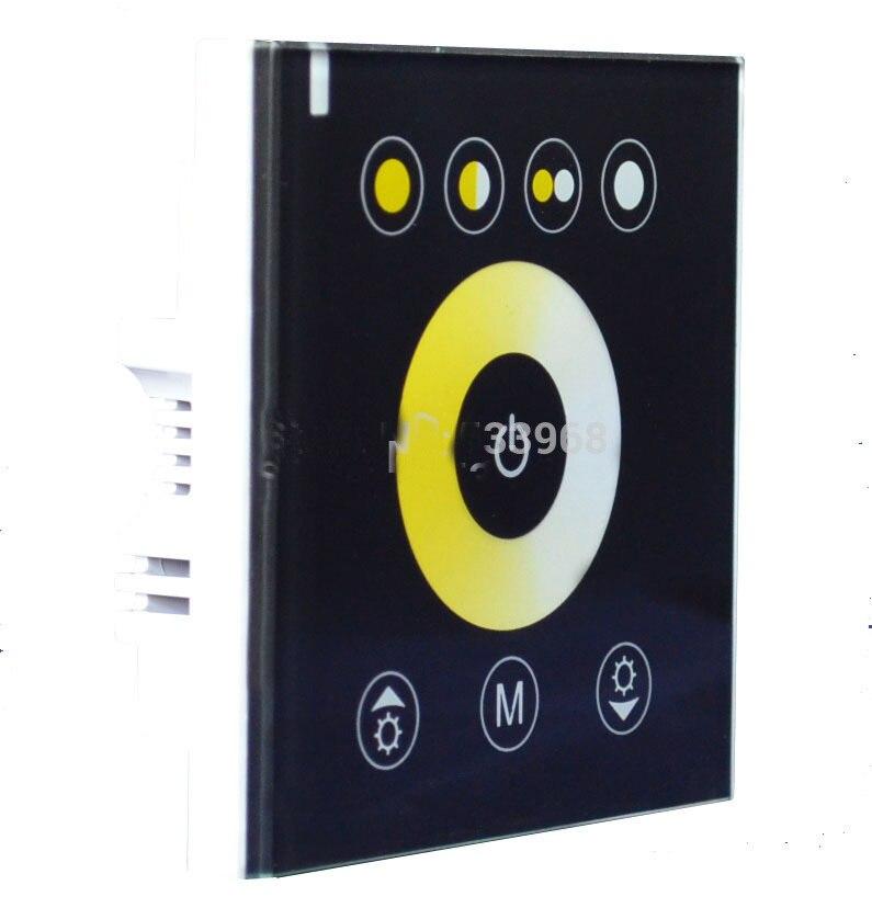 Hot výprodej Rgbw LED stmívač LED páskový modul kontrolka teploty světla stmívač dotykového panelu