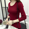 High quality cashmere sweater women winter sweater solid women fall sweater knitting a sweater