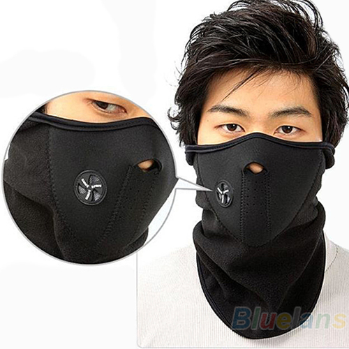 NEW Ski Snowboard Motorcycle Bicycle Winter Sport Face Mask Neck Warmer Warm