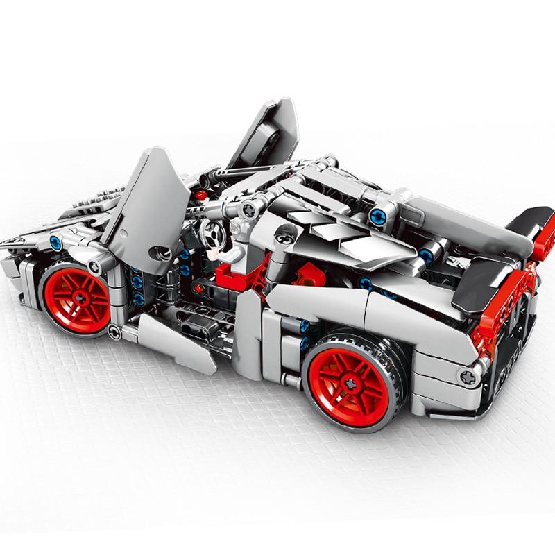 Sembo 369 Pcs Original Super Car In Blocks Veneno Mechanical Password Technic Voiture  Building Brick Educational Toy Gift