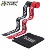2 pièces mobilité récupération bandes Compression Muscle Floss bande-caoutchouc résistance bande pour WOD/Yoga/boxe/MMA entraînement sac gratuit