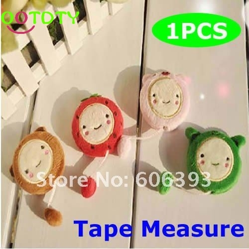 Super Q Cartoon 150cm 60 Inch Plush Retractable Tape Measure Ruler Sewing ToolFreeshipping  828 Promotion