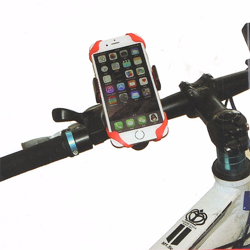 Handlebar Mobile Phone Mount with Strap