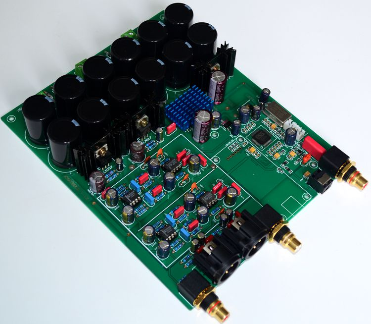 Усилитель ES9038PRO декодер доска NE5532 * 4 (позолоченный PCB)