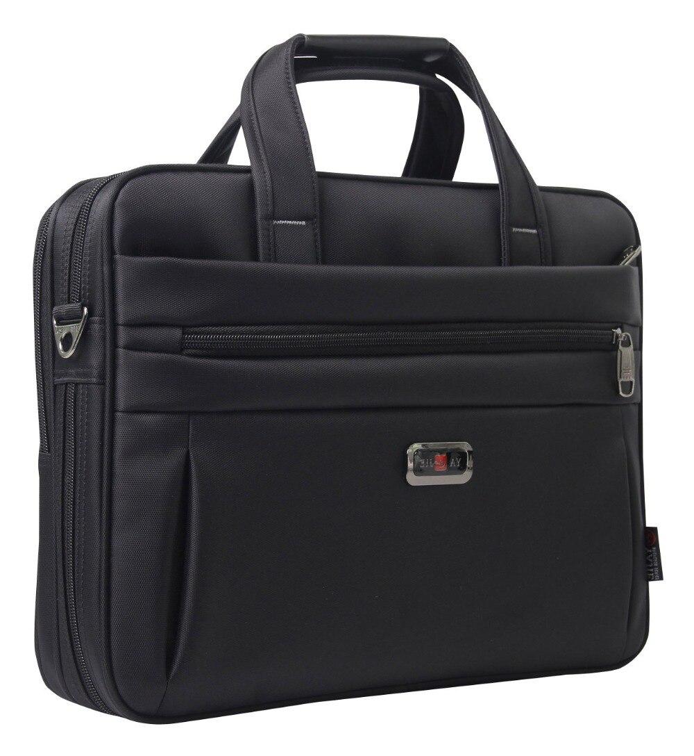1951655c1933 ... компьютерные сумки для отдыха черная Дорожная Сумка для документов  Мужская Наплечная портативная. XD235FAY0001BKM-1