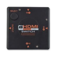 HighTek HK-H3T1M mini 3 ports hd switch 3 input 1 output HD Switcher splitter
