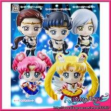 PrettyAngel   Original Megahouse Petit Chara Sailor Star Starlights Sailor Moon Figures Set of 5 pcs