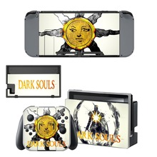 Nintendo Switch Vinyl Skins Sticker For Nintendo Switch Console and Controller Skin Set – For Dark Souls