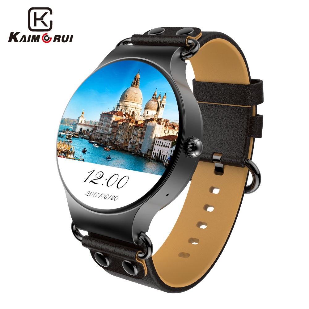 Kaimorui Montre Smart Watch Android Montre 512 MB + 8 GB Smartwatch SIM Carte GPS WiFi Appel Rappel Bluetooth Montre Pour Android IOS