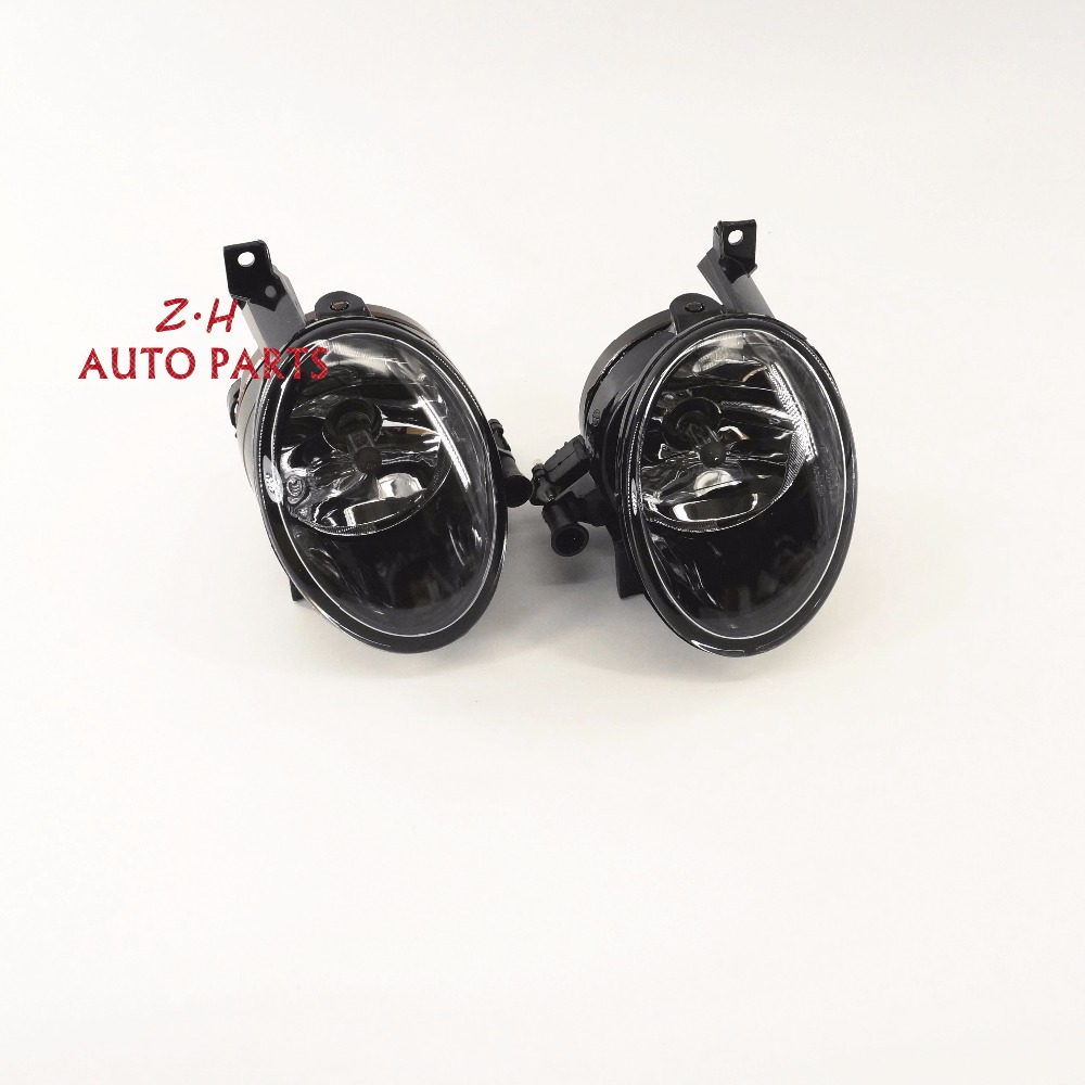 New  2Pcs Left & Right Front  Fog Lamp Assembly For VW Jetta Golf MK6 Eos Touran Tiguan SEAT 5K0 941 699  5K0 941 700 tuke oem right front bumper fog lights for vw caddy jetta 6 golf mk6 eos touran tiguan 5kd 941 700 5k0 941 700 5kd941700