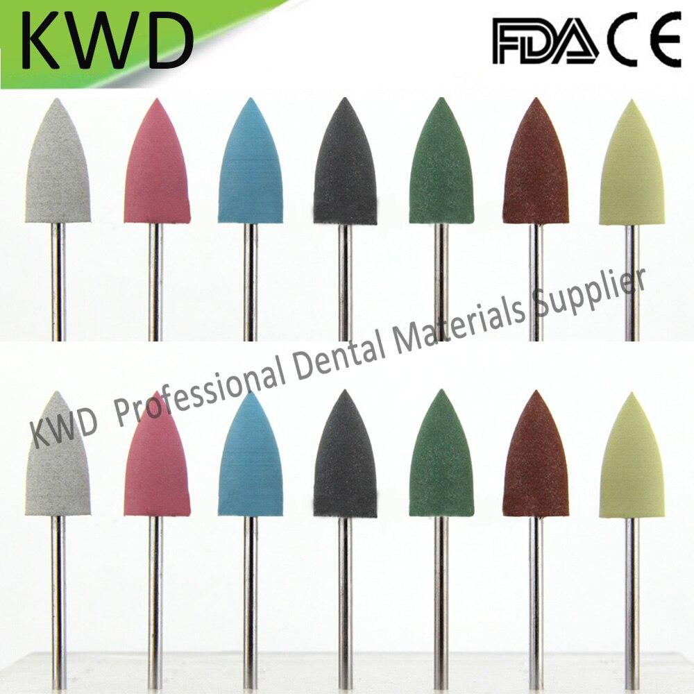 100 pcs/Lot Dental Liefert Werkzeuge Günstige Silizium Polierer 2,35mm Universal Polieren Bohrer Bohrer für Porzellan Prothese-in Zahnbleaching aus Haar & Kosmetik bei  Gruppe 1