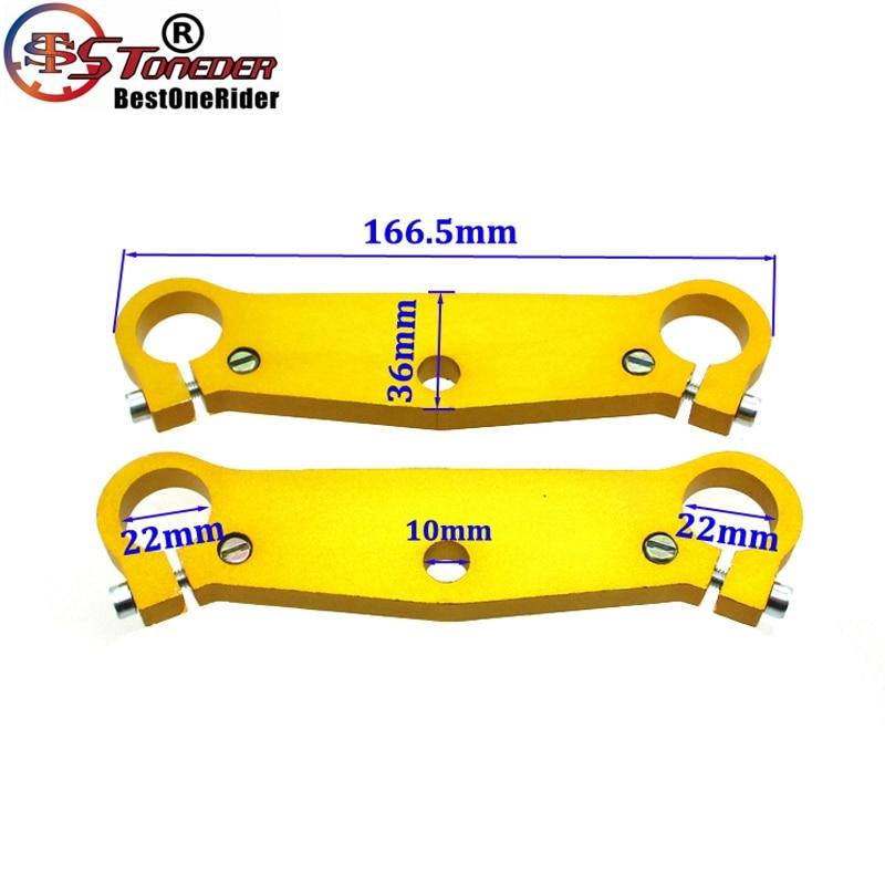 Triple Tree Clamps Fork Plate For 47cc 49cc Cags Mx-3 GP-RSR Mini Pocket Bike