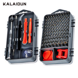 KALAIDUN мобильный телефон Инструменты для ремонта бытовой Multi-function 110 в 1 отвертка Набор бит Набор для ПК цифровое электронное устройство