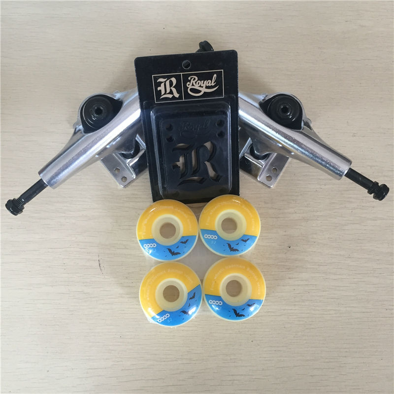 Good Quality Skateboard Trucks And Wheels Mixed 5.25